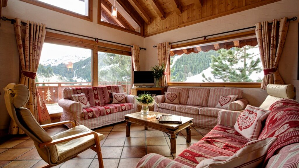 catered ski chalet meribel