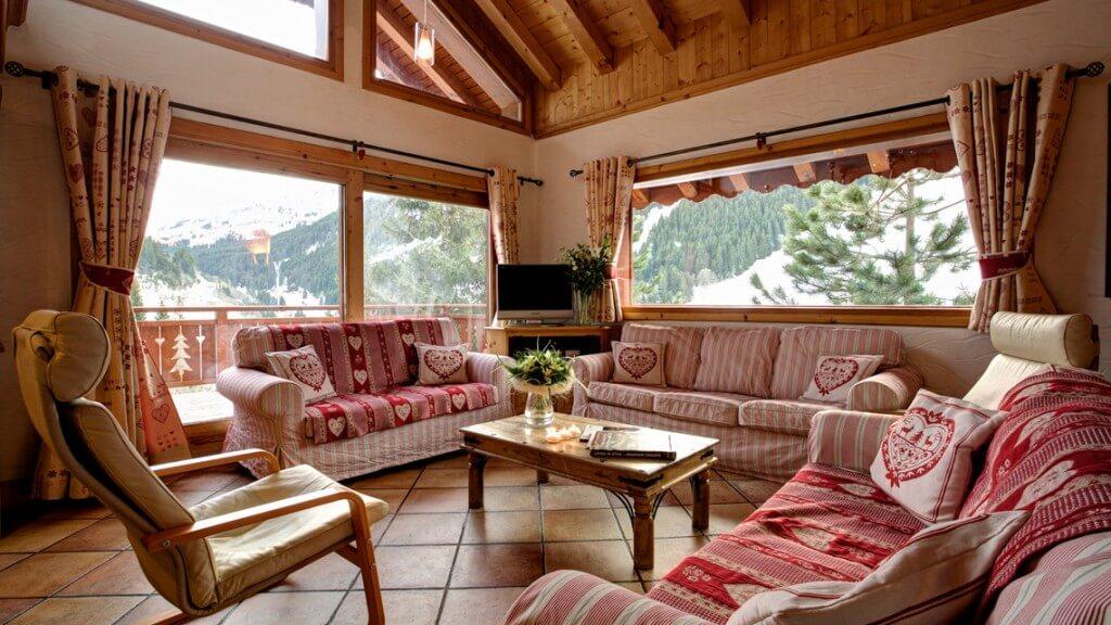 catered ski chalet meribel